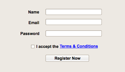 Form Fail - With Tick Box