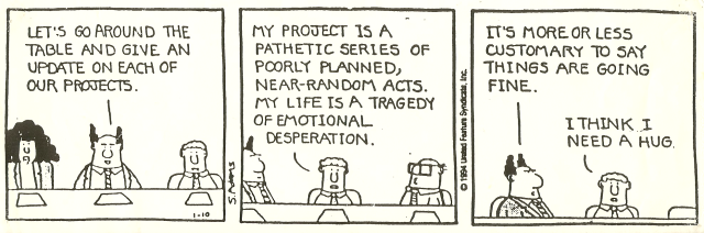 Dilbert - Honesty 3