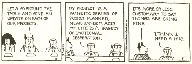 Dilbert - Honesty 3