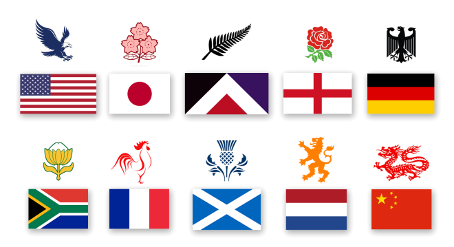 Flags-emblems